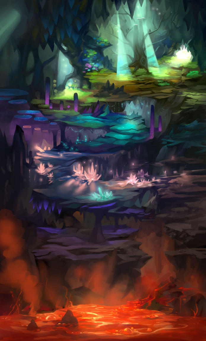 Cave Expansion Map by ethe