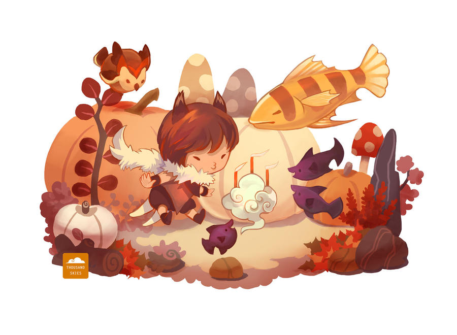 Owl's Birthday by ethe