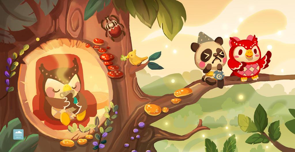 Evening Tea - Animal Crossing New Leaf