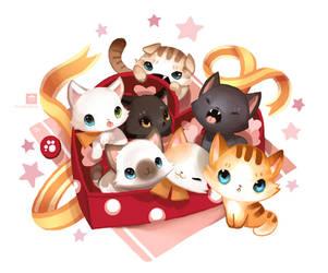 Kitten Chocobox by ethe