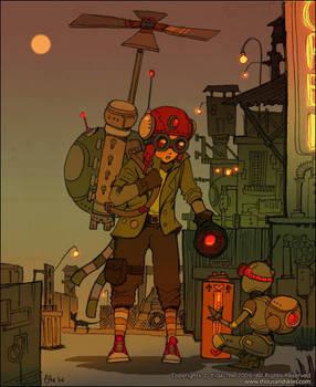 sunset city for mr bow - 01