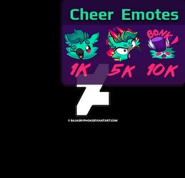 Bit Emotes for My Twitch