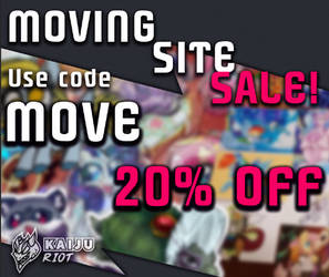 MOVING SITE SALE 20% OFF