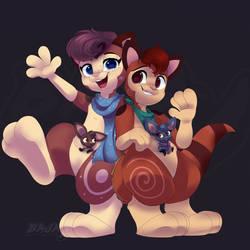 Gift art for LemurFeature!