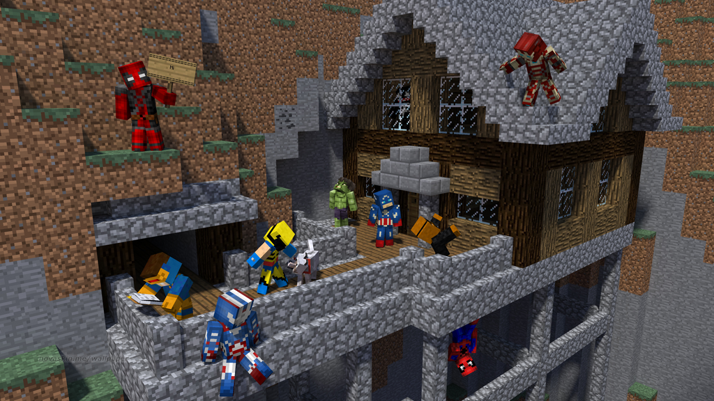 Marvel House Party in Minecraft by Michael-AngeloXI on DeviantArt