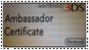 3DS Ambassador Stamp by MewgletheWolf