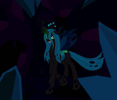 Queen Chrysalis by MewgletheWolf