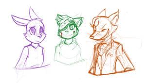 Ruby Quest Doodles