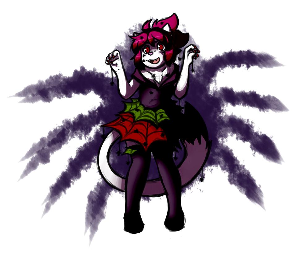 Spider Queen by MewgletheWolf