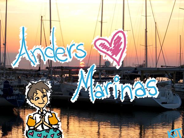 Anders Loves Marinas by ktjayne