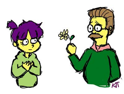Flanders Loves Maria by ktjayne