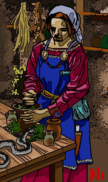 Eir - Goddess of  Healing by PeKj