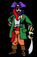 Captain Blackbeard by PeKj