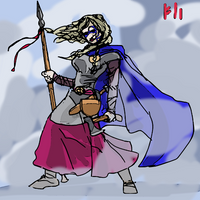 Ganndul the Valkyrie by PeKj