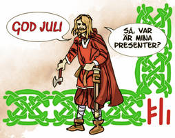 Christmas Visit - Viking Style by PeKj