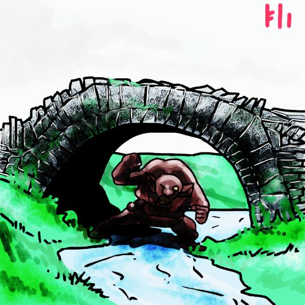 Troll under the Bridge by PeKj