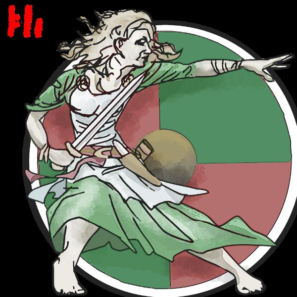 shield Maid by PeKj