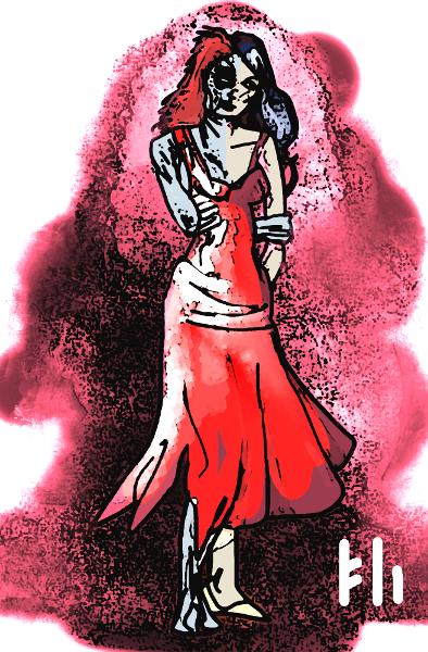 Hel Queen of the Underworld by PeKj