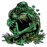 Swamp Thing Creator Gone by PeKj