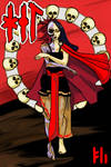 Hel, Queen of the Underworld by PeKj