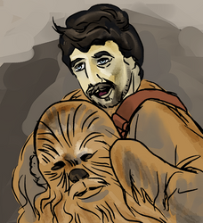 in memory of Peter Mayhew by PeKj