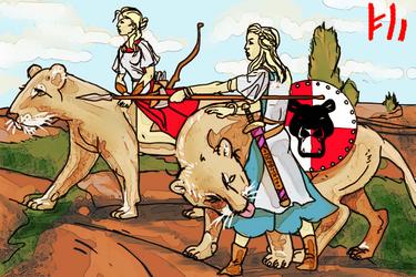 the Big Cat Raiders by PeKj