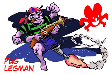 Boatswain Pug Legman, Cosmic Corsair