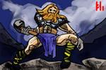 Tor the Thunder God by PeKj