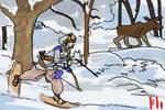 Winter Hunt by PeKj