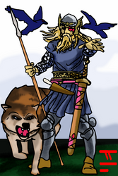 Oden War God