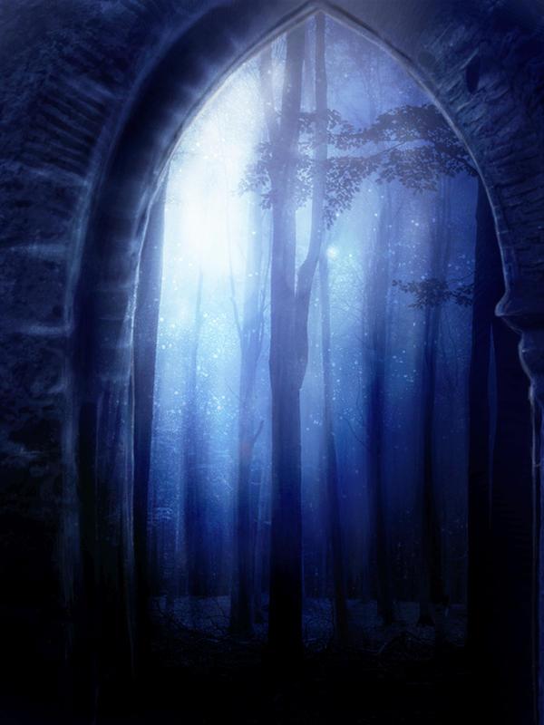 Door to magic Forest by DanielPriego