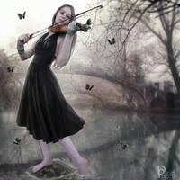 Black Melody by DanielPriego