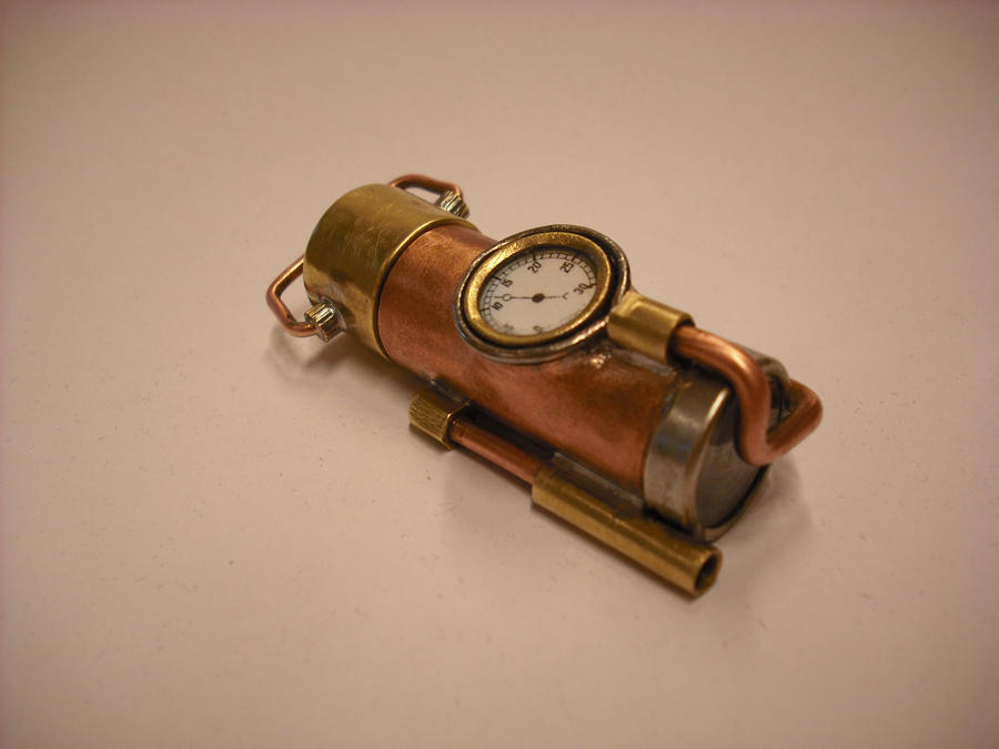 My first Steampunk USB, picture 2