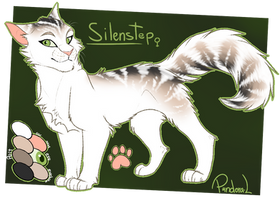 [CM] Silentstep Reference Sheet by P4ndora-L