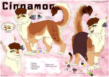 Reference Sheet Commission ~ Cinnamon