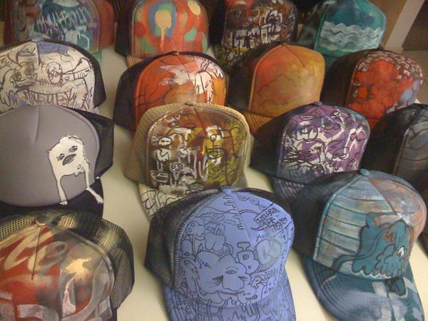 MXYTSPLYK Trucker Hats by EekBouteek