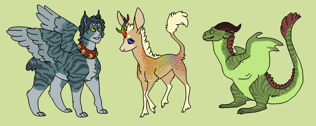 critter adopts - OPEN by hyenidae