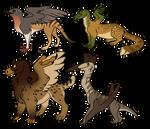 weird griffins - OPEN by hyenidae