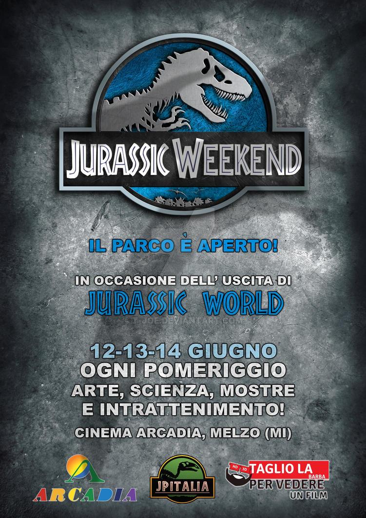 Jurassic Weekend Poster by T-Joe