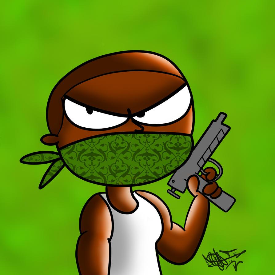 CJ (GTA San Andreas) By Diegoroso16 On DeviantArt