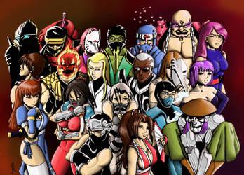 20 Ninjas by ziconviene