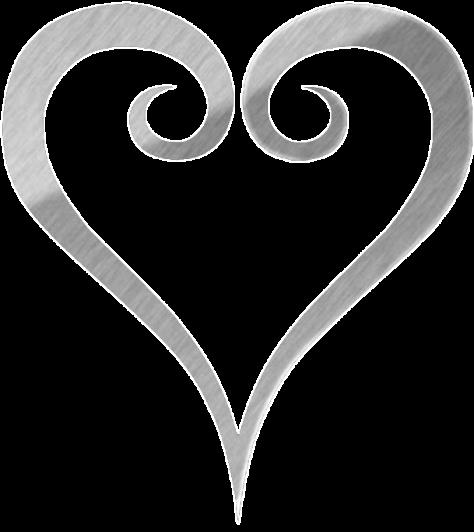 Kingdom Hearts Logo Heart