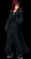 Kairi in Black Coat (KH Rewrite)