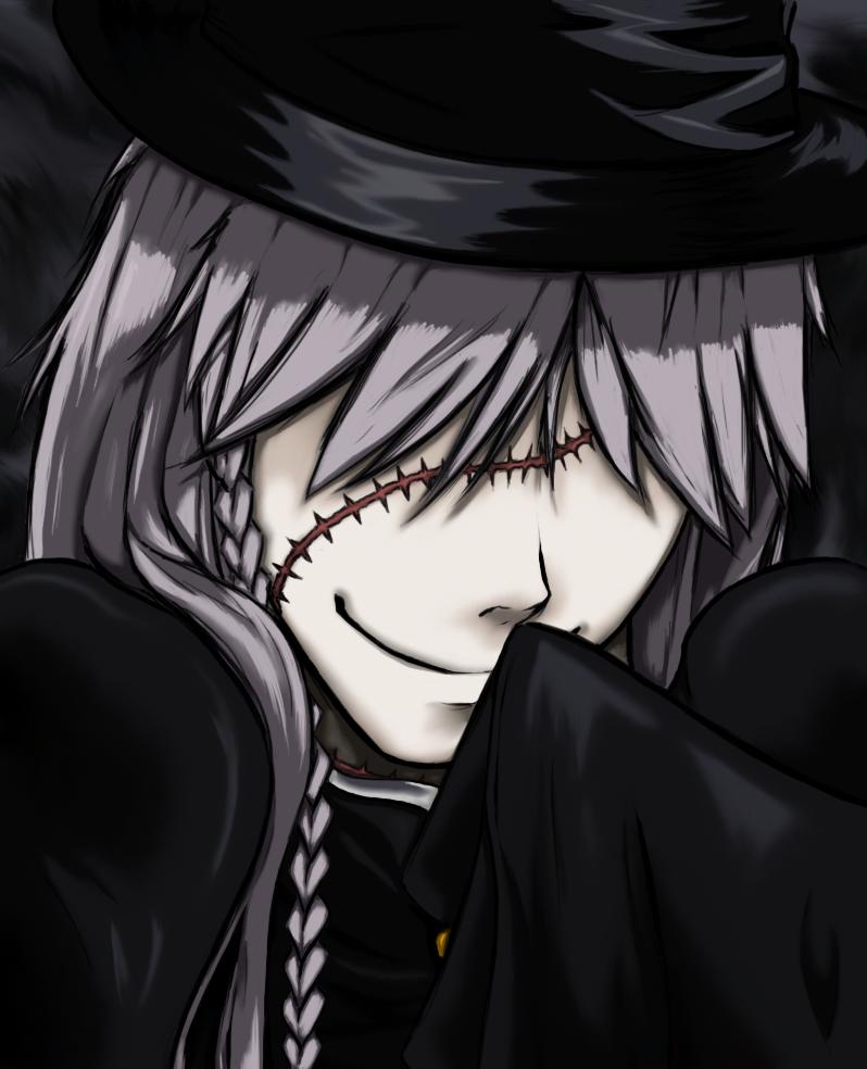 Kuroshitsuji - Undertaker by feurae