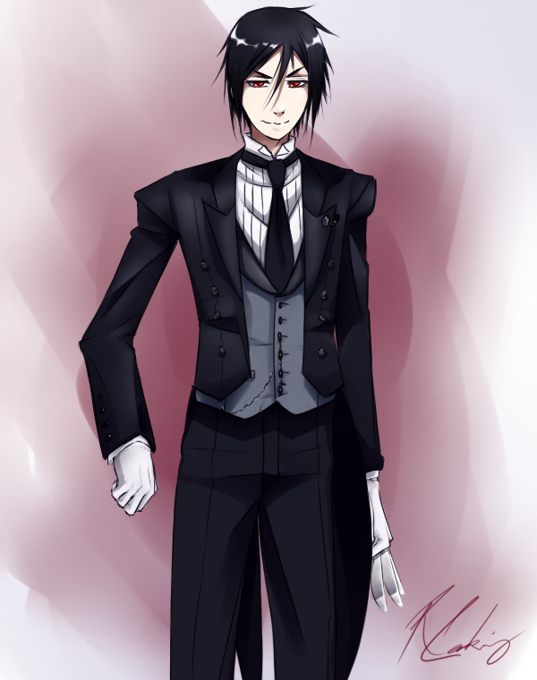 Commission - Sebastian Michaelis by feurae