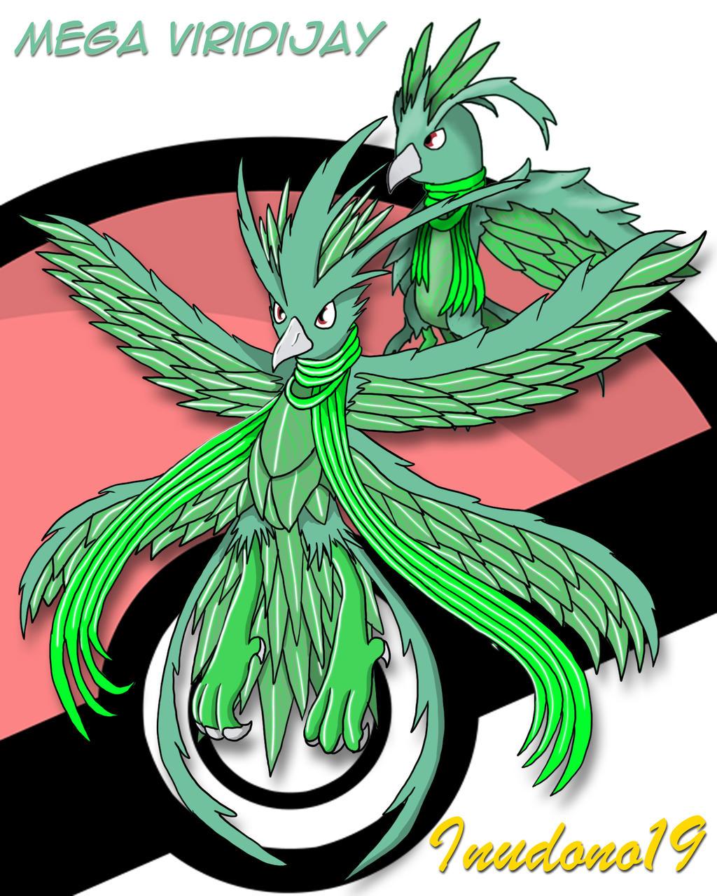 Fakemon 003 Mega Viridijay By Inudono19 On Deviantart