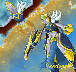 Battle Queen Shyvana by Inudono19
