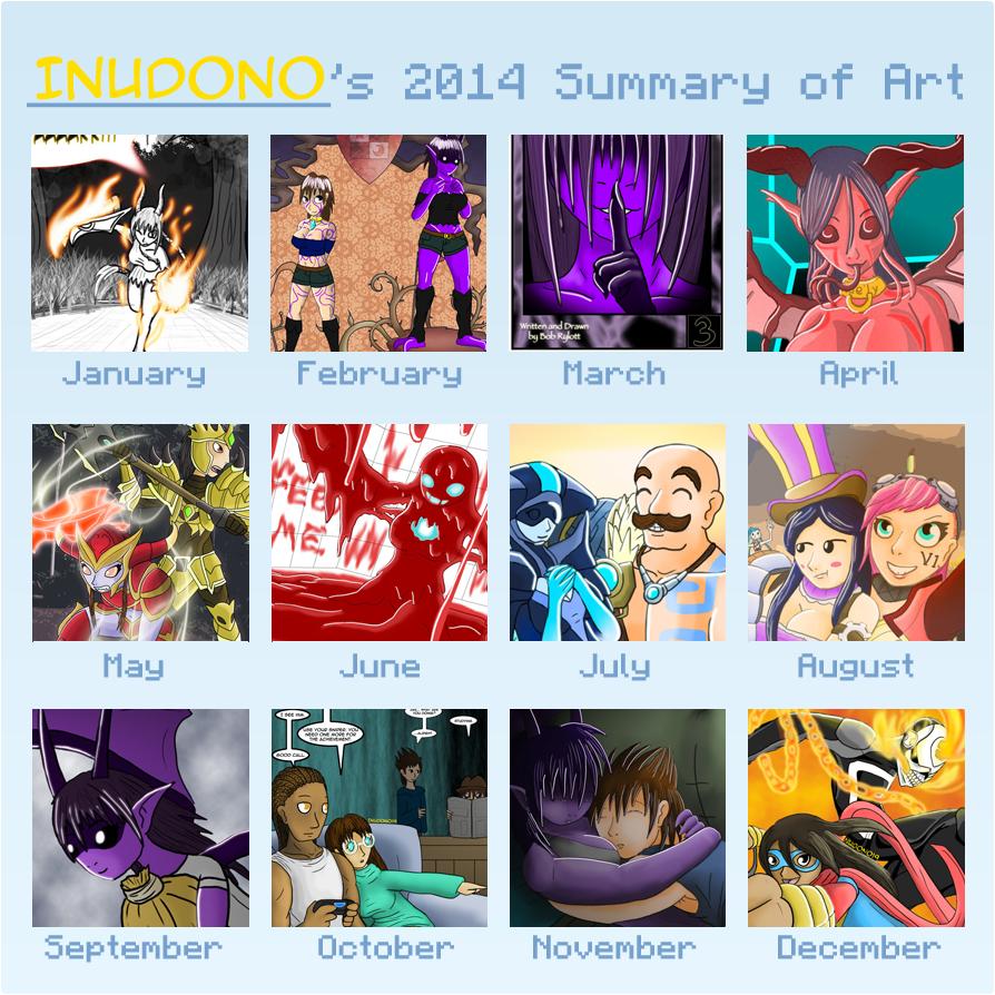 Art Summary 2014 by Inudono19
