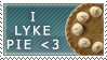 I Lyke Pie Stamp by SunsetDeamon