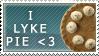 I Lyke Pie Stamp by SunsetDeamon